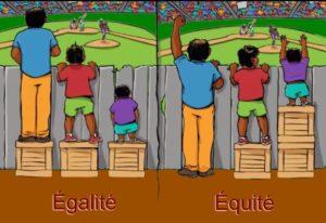 Égalité ou Équité